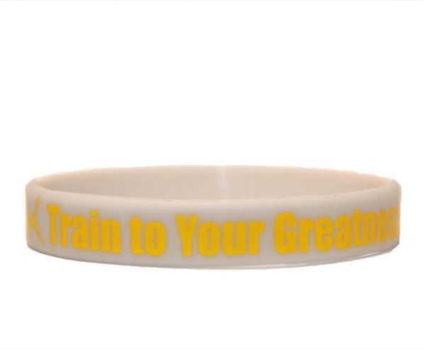 Motivational fitness wrist band