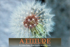 huxfit Motivational Attitude poster